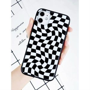 Twisted Checkerboard iPhone 11 Pro Max Case 🖤
